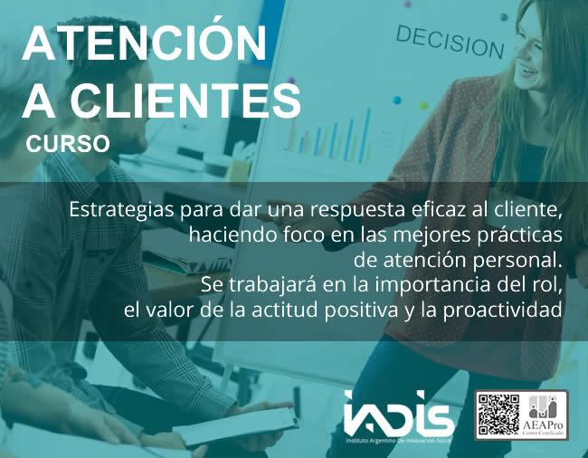 Formación IADIS Atención a Clientes