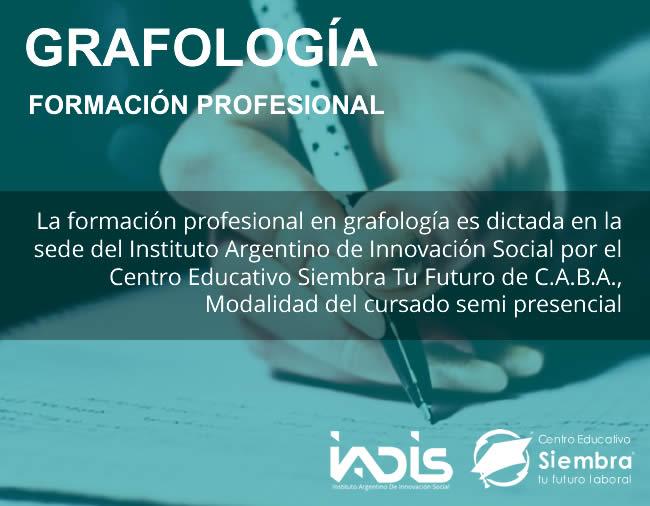 Formación IADIS Grafologia