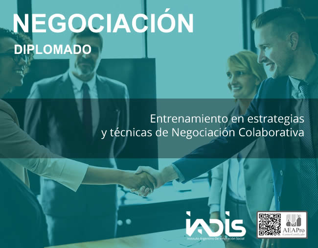 Formación IADIS Negociación