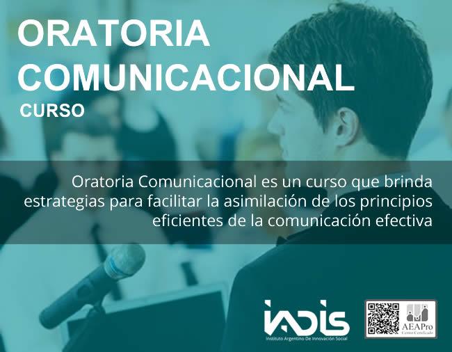 Formación IADIS Oratoria Comunicacional