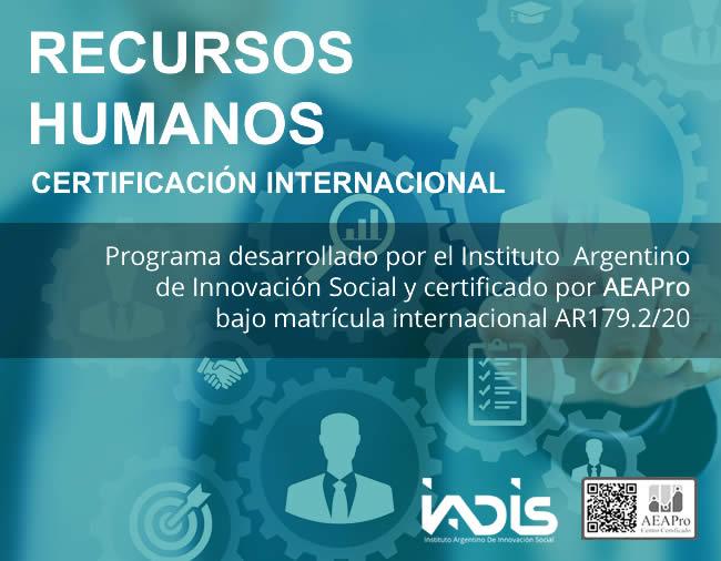 Formación IADIS Recursos Humanos